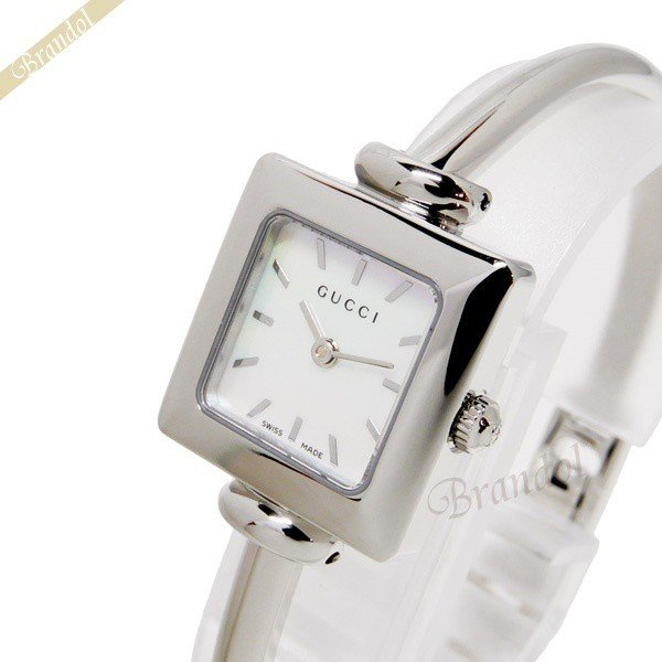 グッチ GUCCI レディース腕時計 1900 20mm ホワイトパール YA019518 [在庫品]