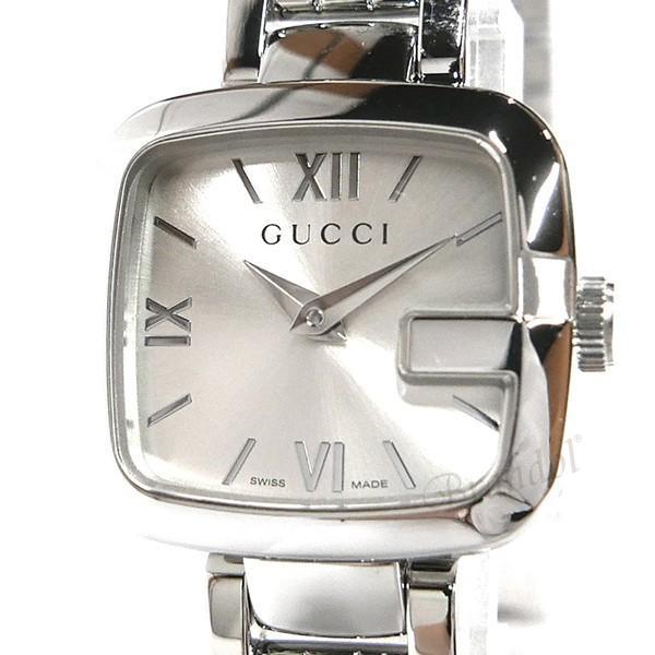 グッチ GUCCI レディース腕時計 Gグッチ シルバー YA125517 N [在庫品]
