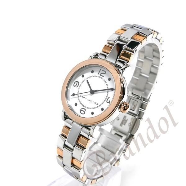 マークジェイコブス MARC JACOBS レディース 腕時計 ライリー RILEY 28mm シルバー×ピンクゴールド MJ3540 [在庫品]|brandol|02