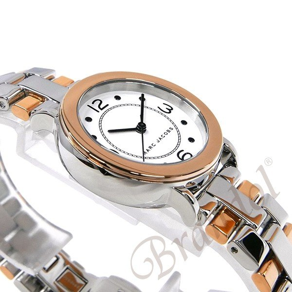 マークジェイコブス MARC JACOBS レディース 腕時計 ライリー RILEY 28mm シルバー×ピンクゴールド MJ3540 [在庫品]|brandol|04