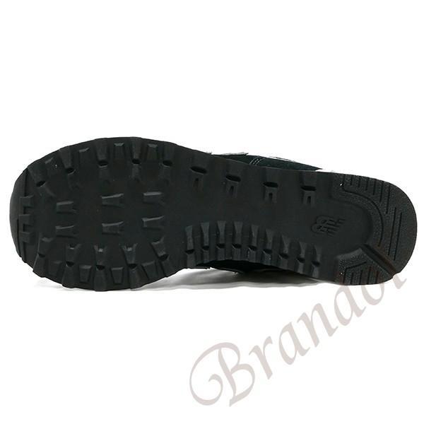 ニューバランス new balance スニーカー 574 メンズ・レディース [22.5-28.5cm] ブラック ML574EGK 001 BLACK [在庫品]|brandol|03