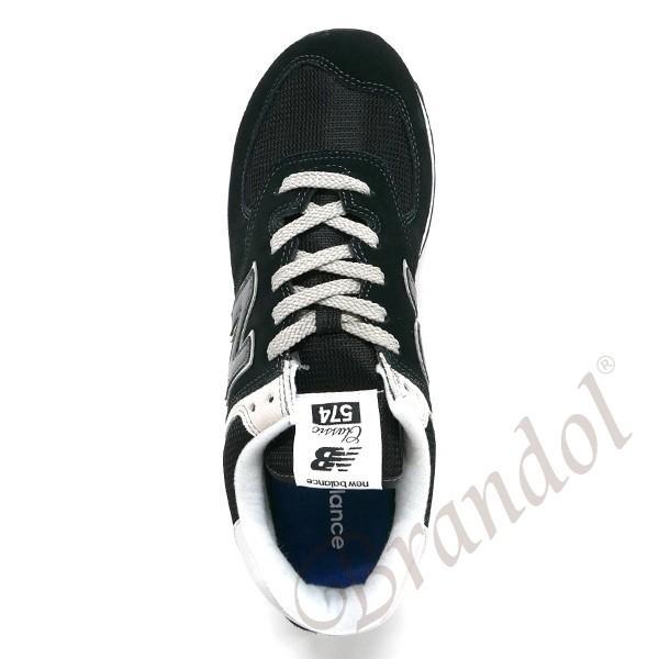 ニューバランス new balance スニーカー 574 メンズ・レディース [22.5-28.5cm] ブラック ML574EGK 001 BLACK [在庫品]|brandol|04