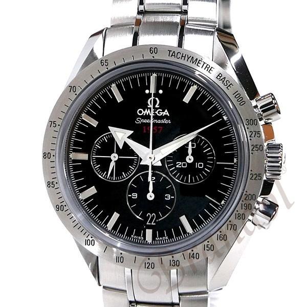 オメガ OMEGA メンズ腕時計 スピードマスター ブロード アロー1957 クロノグラフ 自動巻き 42mm ブラック×シルバー 321.10.42.50.01.001 [在庫品] brandol 03