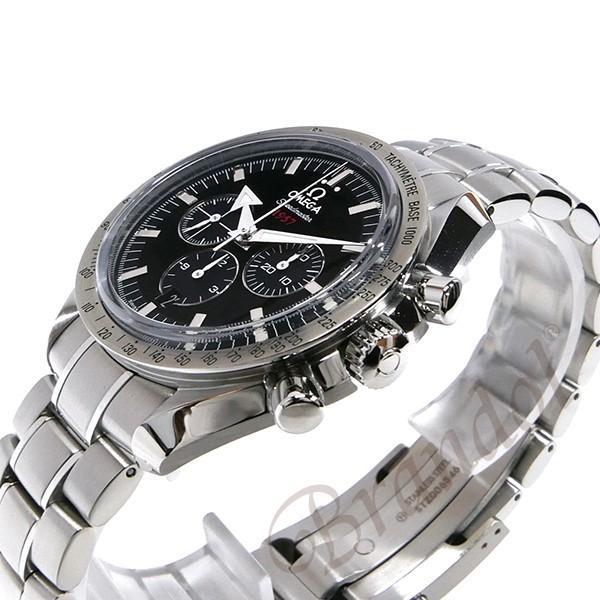 オメガ OMEGA メンズ腕時計 スピードマスター ブロード アロー1957 クロノグラフ 自動巻き 42mm ブラック×シルバー 321.10.42.50.01.001 [在庫品] brandol 04