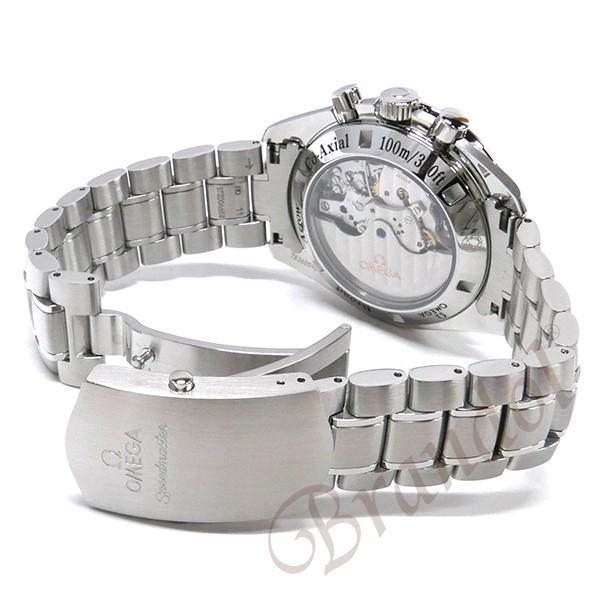 オメガ OMEGA メンズ腕時計 スピードマスター ブロード アロー1957 クロノグラフ 自動巻き 42mm ブラック×シルバー 321.10.42.50.01.001 [在庫品] brandol 05