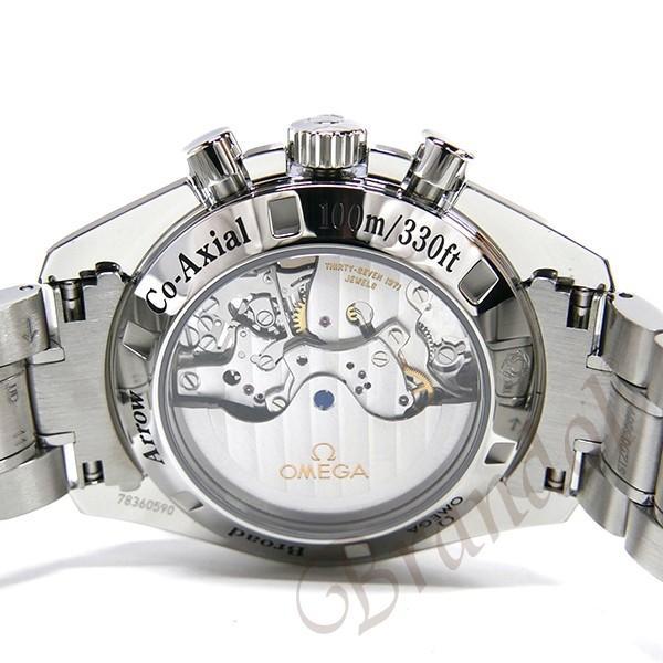 オメガ OMEGA メンズ腕時計 スピードマスター ブロード アロー1957 クロノグラフ 自動巻き 42mm ブラック×シルバー 321.10.42.50.01.001 [在庫品] brandol 06