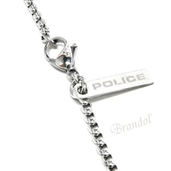 ポリス POLICE ネックレス メンズ GEMINI ダブル クロス ペンダント シルバー×ローズゴールド 25524PSSRG01 [在庫品]|brandol|04