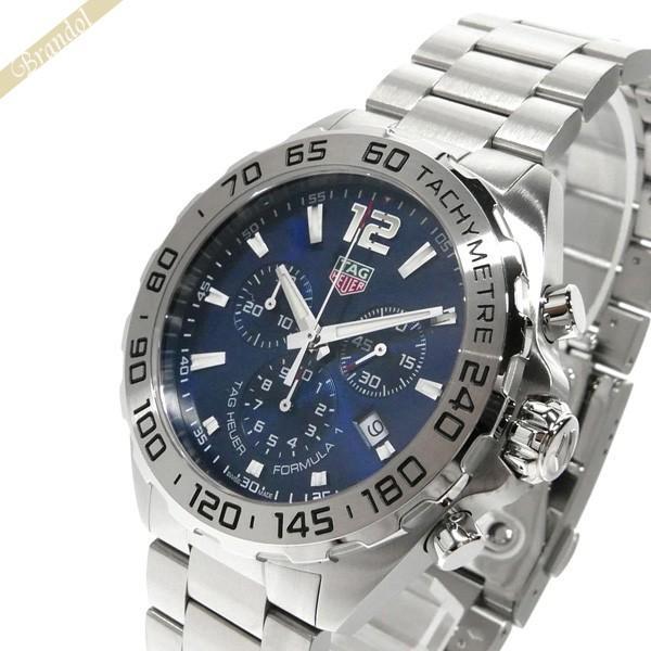 reputable site 28e20 b95ff タグホイヤー TAG Heuer メンズ腕時計 フォーミュラ1 クロノグラフ 43mm ブルー×シルバー CAZ101K.BA0842 [在庫品]