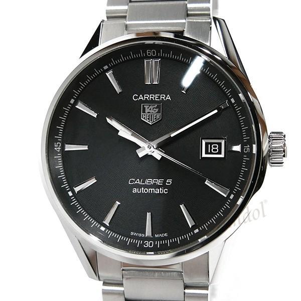 タグホイヤー TAG Heuer メンズ腕時計 カレラ キャリバー5 39mm 自動巻き ブラック×シルバー WAR211A.BA0782 [在庫品]|brandol|03