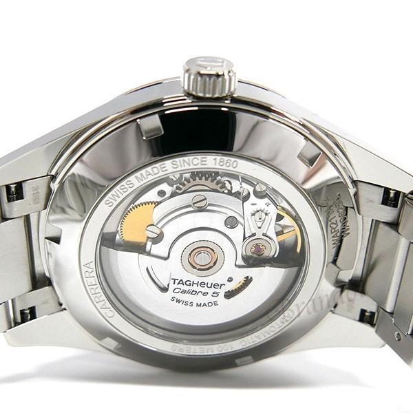 タグホイヤー TAG Heuer メンズ腕時計 カレラ キャリバー5 39mm 自動巻き ブラック×シルバー WAR211A.BA0782 [在庫品]|brandol|06