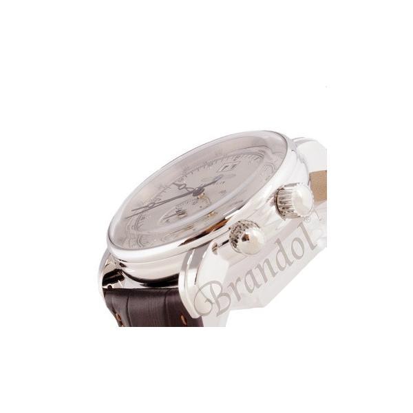 ツェッペリン ZEPPELIN メンズ腕時計 100周年記念モデル 42mm ライトゴールド×ブラウン 7640-1-N|brandol|04