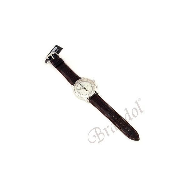 ツェッペリン ZEPPELIN メンズ腕時計 100周年記念モデル 42mm ライトゴールド×ブラウン 7640-1-N|brandol|05