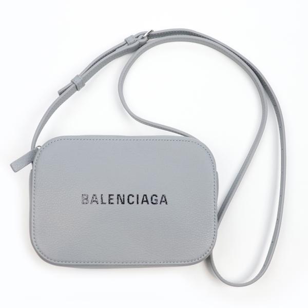 バレンシアガ バッグ BALENCIAGA ショルダーバッグ 552372 DLQ4N 1165 EVERYDAY XS グレー 本革 レザー 灰色【内祝い】