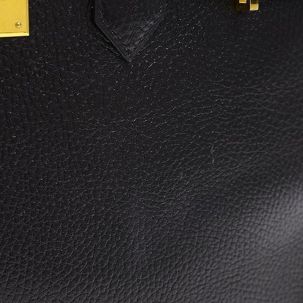 エルメス バーキン35 アルデンヌ ブラック ゴールド金具 A刻印  ブランドピース