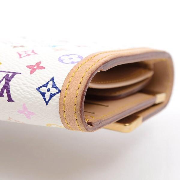 ルイ・ヴィトン マルチカラー 3つ折長財布 ポルトトレゾールインターナショナル ブロン M92659 送料無料 ブランドピース