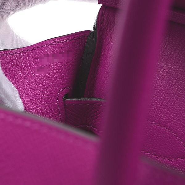 エルメス バーキン30 エプソン ローズパープル シルバー金具 C刻印  ブランドピース