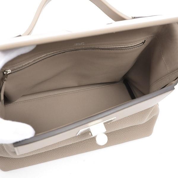 エルメス サック24/24-29 トリヨン/スイフト グリアスファルト シルバー金具 D刻印  ブランドピース