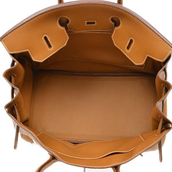 エルメス バーキン35 トゴ ゴールド シルバー金具 H刻印  ブランドピース