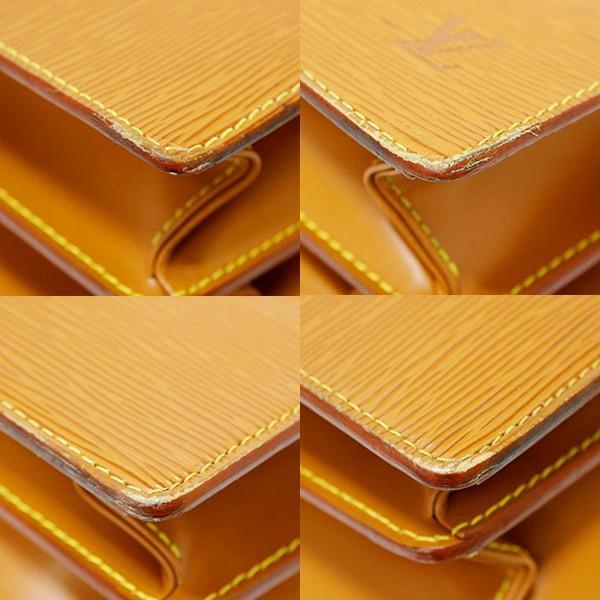 【USED】LV/ヴィトン M54418/セルヴィットアンバサダー ビジネスバック/書類入れ エピ ジパング・ゴールド レディースバッグ ブランド