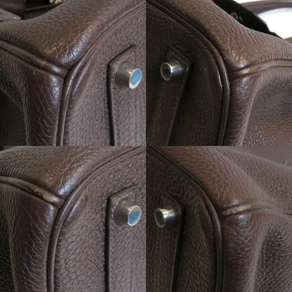 エルメス バッグ バーキン35 トゴ □L刻印 A−ランク ハンドバッグ レディース  【三田店】