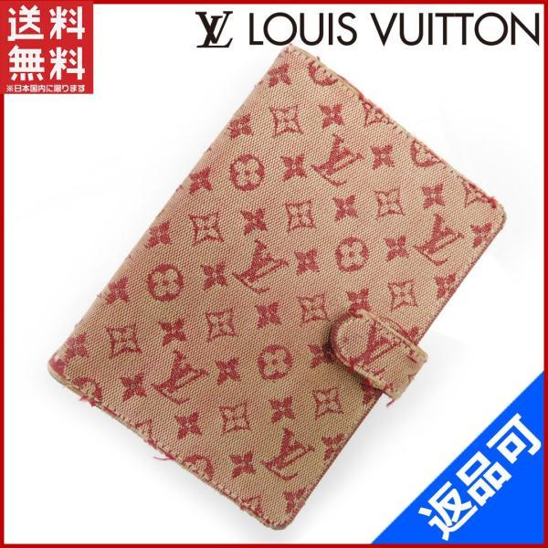 24436b609075 ルイヴィトン LOUIS VUITTON 手帳カバー モノグラムミニ 中古 X12792 ...