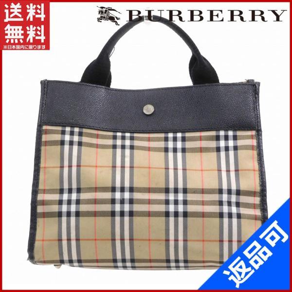 バーバリー BURBERRY バッグ ハンドバッグ ノバチェック  X14870