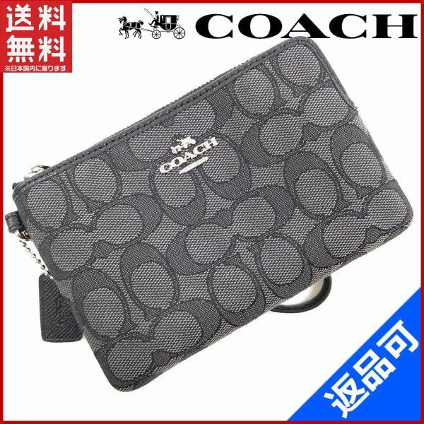 コーチ COACH バッグ ポーチ ブティックライン現行モデル シグネチャー (未使用品) X15168