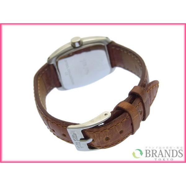 [半額セール!] フォリフォリ Folli Follie 腕時計 ロゴ×ラインスローン 中古 X3056|brands|03