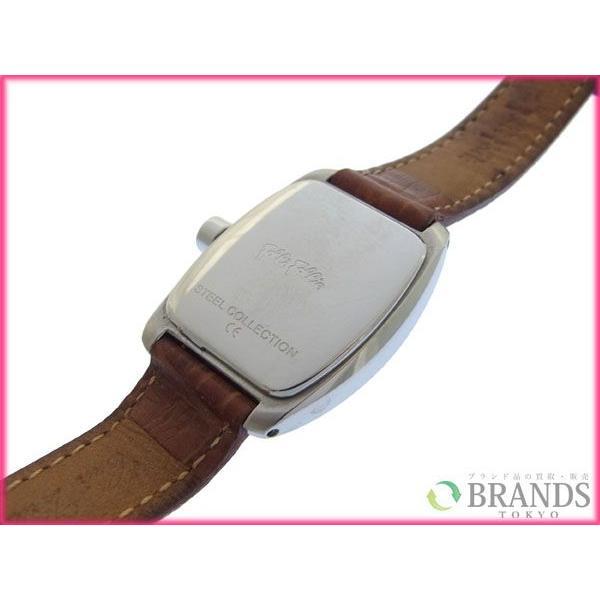 [半額セール!] フォリフォリ Folli Follie 腕時計 ロゴ×ラインスローン 中古 X3056|brands|05