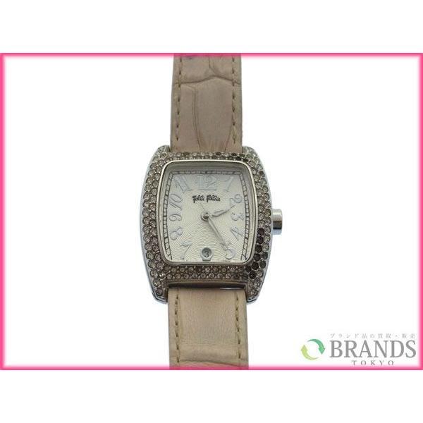 [半額セール!] フォリフォリ Folli Follie 腕時計 ロゴ 中古 X3132|brands|02