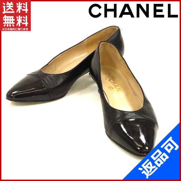 シャネル CHANEL 靴 パンプス  X9214