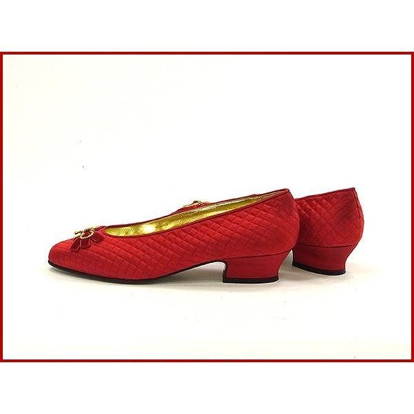 ボッテガ・ヴェネタ BOTTEGA VENETA 靴 パンプス リボン  X9495