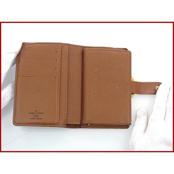 huge discount 6bcc1 9f4e4 ルイヴィトン LOUIS VUITTON 財布 二つ折り財布 がま口 M61674 ...
