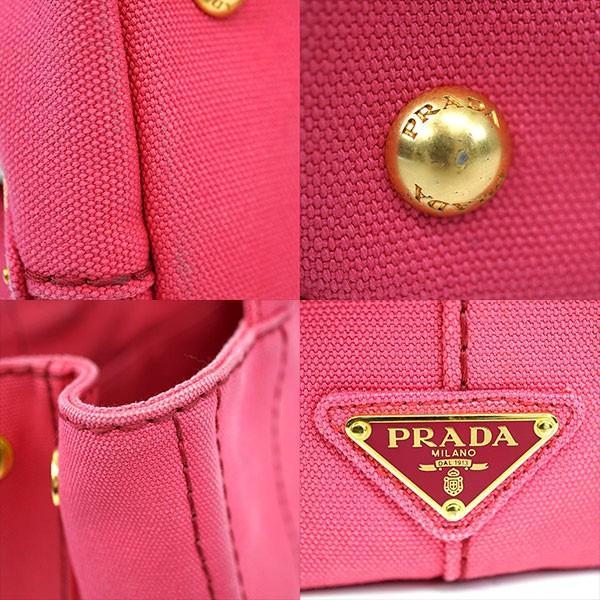 PRADA プラダ カナパ 2WAYバッグ ショルダーバッグ トートバッグ PEONIA B2439G ハンドバッグ レディース 人気 ブランド バッグ 中古