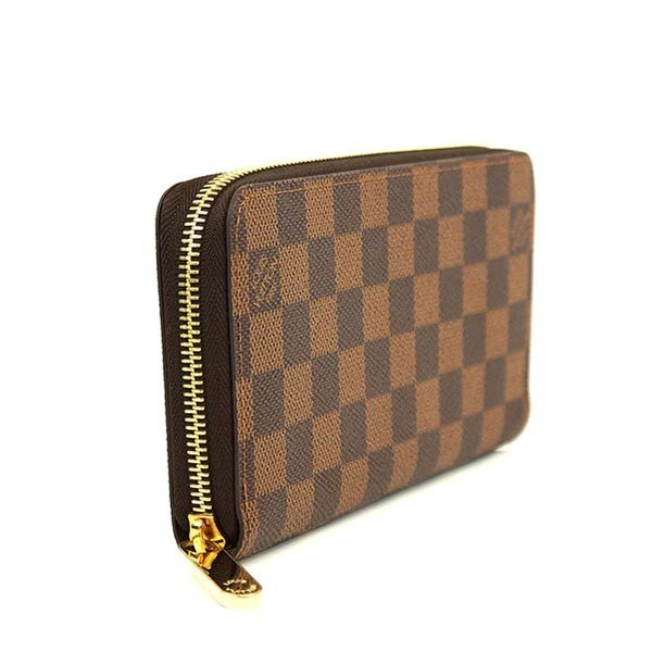 finest selection 13eea 7b3ff LOUIS VUITTON ルイ ヴィトン ダミエ ジッピーウォレット 新型 ...