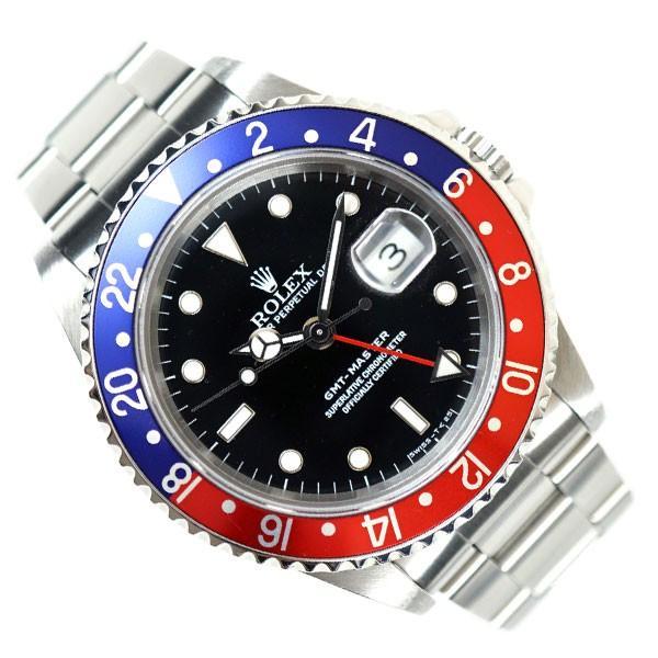 super popular f48bf 05076 ROLEX ロレックス GMT-MASTER GMTマスター S番代 16700 赤 青 ベゼル AT メンズ ウォッチ 男性 腕時計 人気 ブランド  時計 中古 c00023 KOJIYA