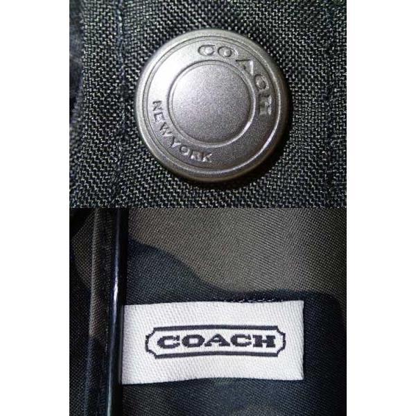 5b95ee2da200 ... COACH コーチ メンズ 傘 アウトレット シグネチャー アンブレラ 折り畳み傘 かさ 迷彩 カモフラージュ F63181 BIO| brandshop