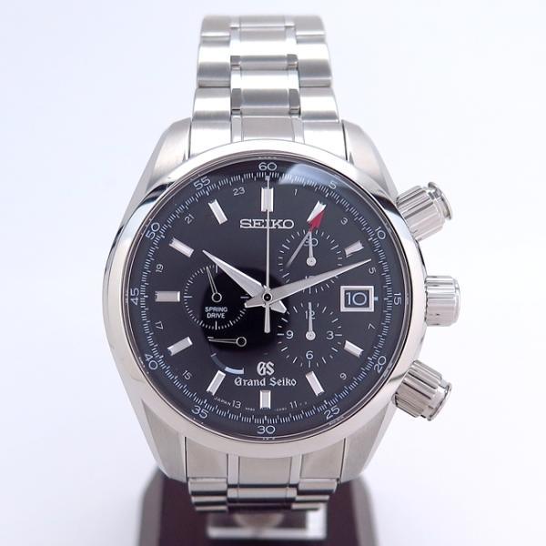 GRANDSEIKO/グランドセイコー 9R86-0AA0スプリングドライブクロノ腕時計シースルーバック 中古・新品仕上げ /