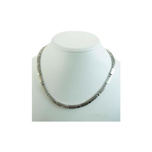 MARE(マーレ) ゲルマニウムネックレス PT/IP ミラー/マット 175 0.55cm×60cm NTH1808-02
