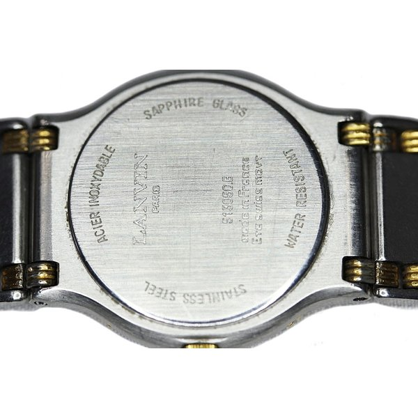 ランバン 腕時計 レディース コンビ 【中古】
