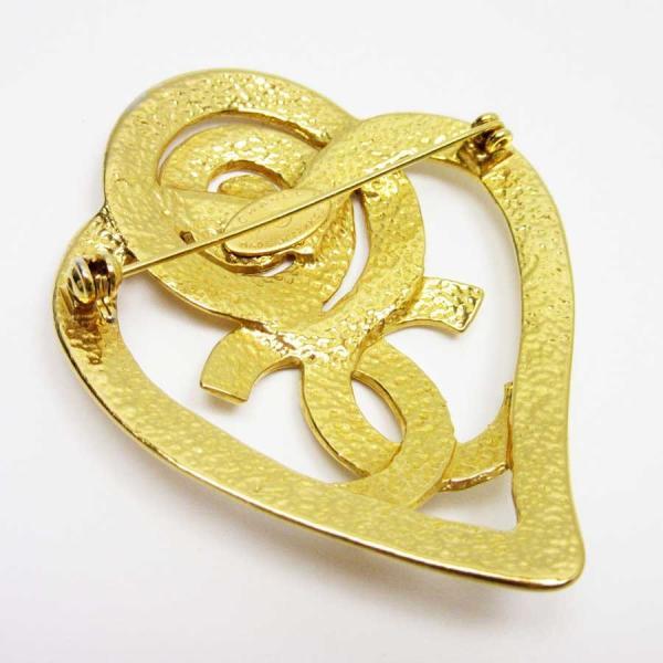 2485a4befa81db シャネル CHANEL ブローチ ココマーク 金属素材 ゴールド 定番人気
