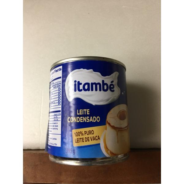 レイテ コンデンサード LEITE CONDENSADO itambe 395g コンデンスミルク 加糖練乳(BRASIL)|brasilsaketen