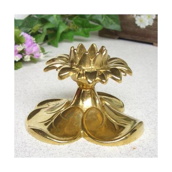1灯A 燭台 キャンドルスタンド キャンドルホルダー 真鍮製品金色 ブラス イタリア製アンティーク調雑貨