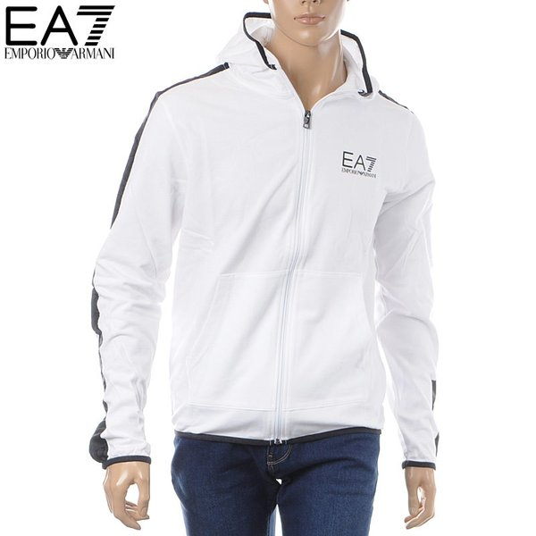 outlet store c72ad f91c3 エンポリオアルマーニ EMPORIO ARMANI EA7 ジップアップパーカー ...