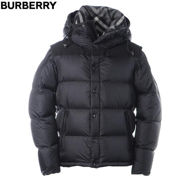 バーバリー BURBERRY ダウンジャケット メンズ アウター 8018731 ブラック|bravas