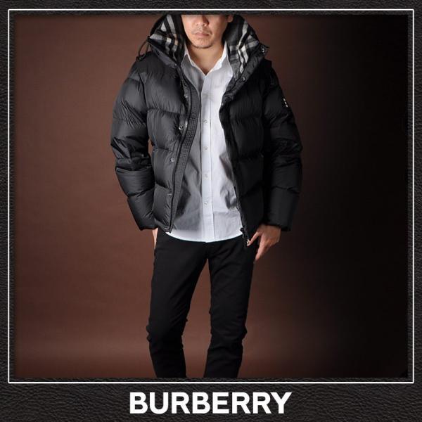 バーバリー BURBERRY ダウンジャケット メンズ アウター 8018731 ブラック|bravas|02