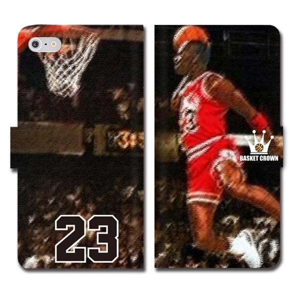 iPhoneXS Max XR X iPhone 8 7 6s 6 plus SE 5s スマホ ケース 手帳型 カバー ブランド バスケットボール NBA マイケル ジョーダン 23 JORDAN ブルズ ダンク brave-sports 03