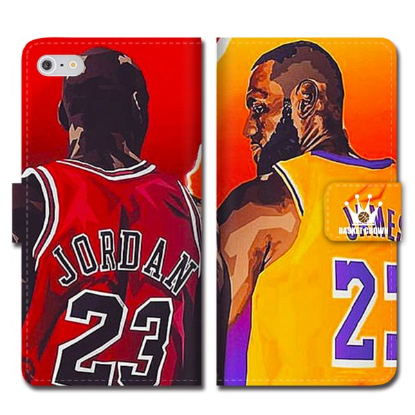 iPhoneXS Max XR X iPhone 8 7 6s 6 plus SE 5s スマホ ケース 手帳型 カバー ブランド バスケットボール NBA マイケル ジョーダン 23 JORDAN ブルズ ダンク brave-sports 07