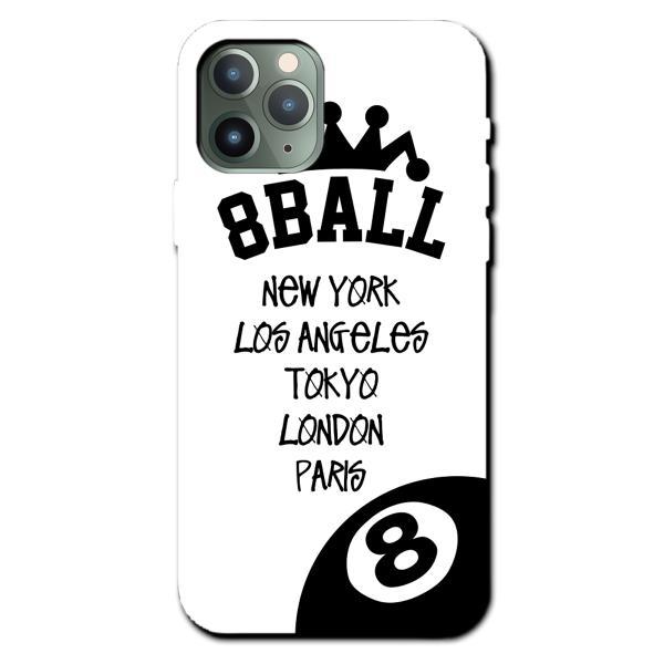 iPhoneXS Max XR X iPhone 8 7 6s 6 plus SE 5s galaxy xperia ハード スマホ ケース カバー ビリヤード エイトボール ナイン 8ball キュー POOL|brave-sports|03