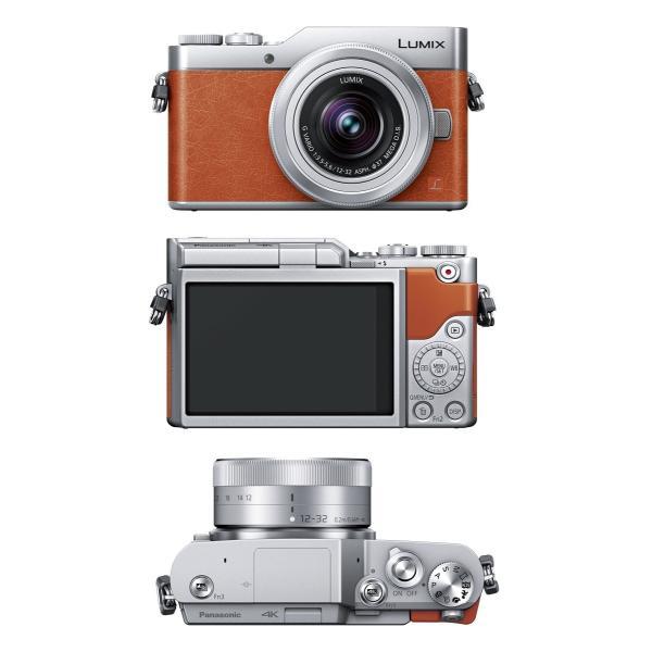 パナソニック ミラーレス一眼カメラ ルミックス GF9 ダブルズームレンズキット 標準ズームレンズ/単焦点レンズ付属 オレンジ DC-GF9W-D|break19|02